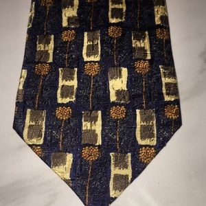 Ermenegildo Zenga - 100% Silk Tie Made in Italy